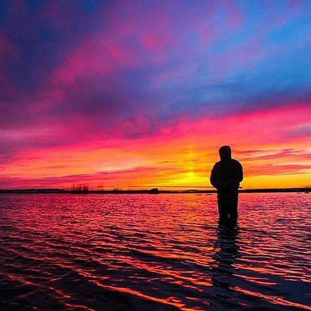 image: Sunset captured...??????? @visitpingo--Follow @whatasunset-To be featured please send us a DM or: ????#whatasunset--#sunsets #sunset_madness #instagood #photooftheday #nature #sun #sky #sunset #clouds #landscape #sunshine #sunny #sunrise #nature by whatasunset1