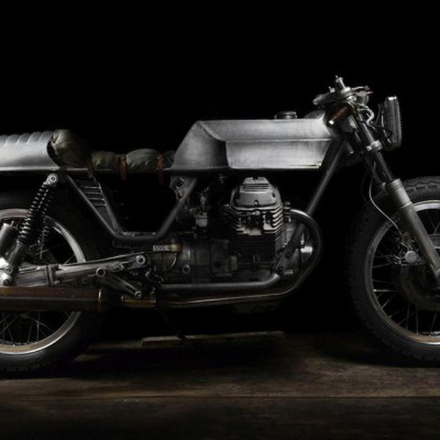 image: El Solitario Trimotoro Motorcycle by goyette