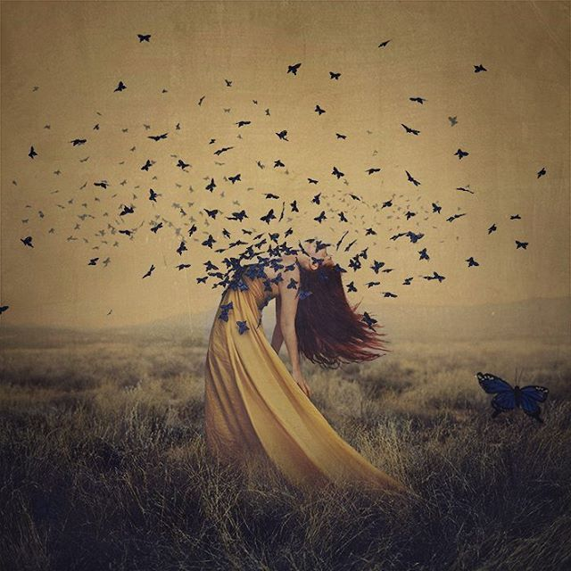 image: If you had to describe yourself in 10 words or less, what would you say?Exceptionally shy powerful little creative soul. by brookeshaden