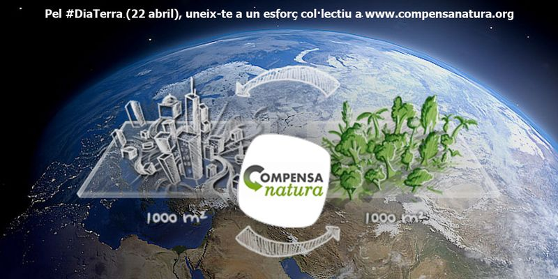 image: CompensaNatura & Dia de la Terra (22 abril) by accionatura
