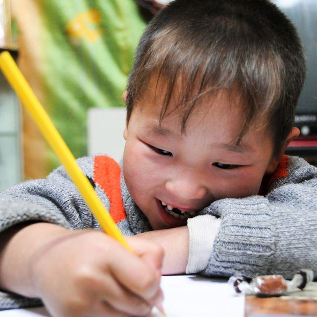 image: Enkhbaatar: pasión por las sonrisas by wv