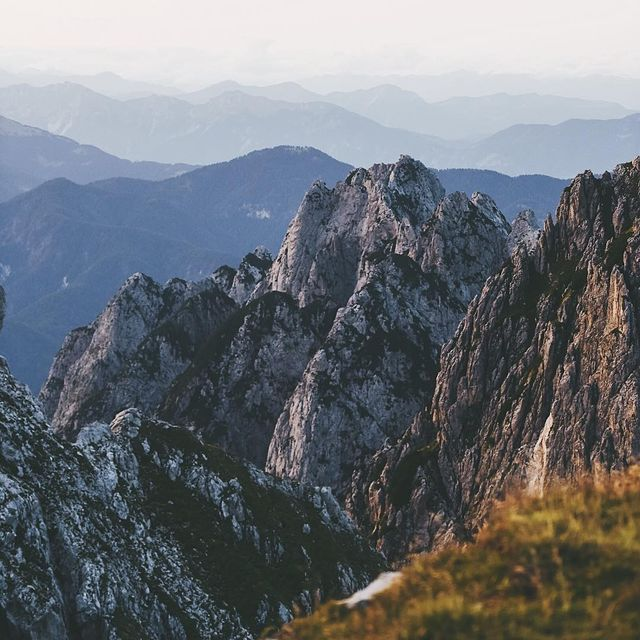 image: Mountains as far as the eye can see. Slovenia has to be one of the most underrated countries of Europe. #peaksofeurope by lebackpacker