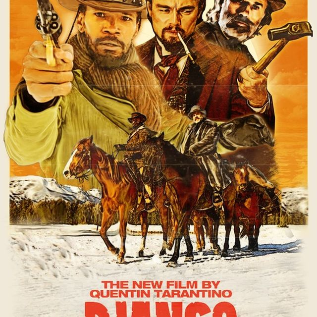 image: My posters / #DjangoUnchained fan art by octavioterol