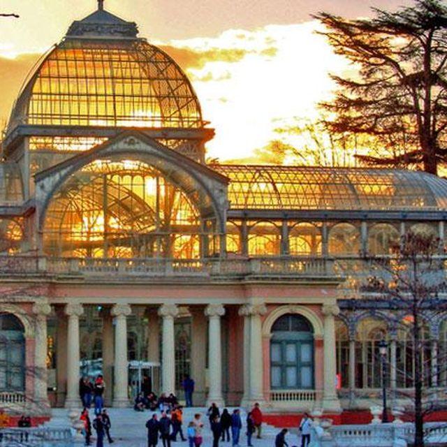 image: Palacio de Cristal, El Retiro - Madrid by gt28