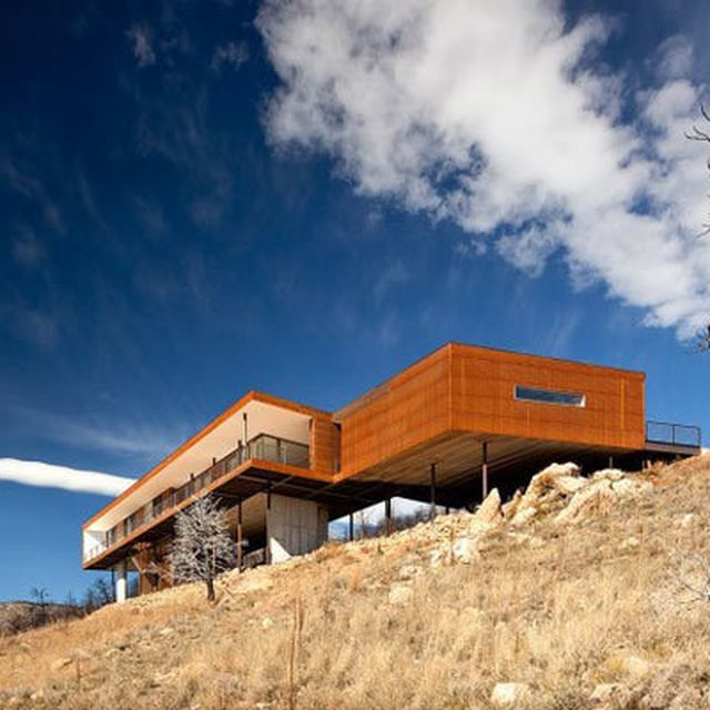 image: Sunshine Canyon Residence in Boulder, Colorado by brawnyred