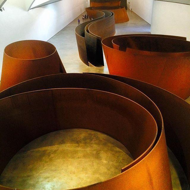 image: El #Museo @Guggenheim de #Bilbao por dentro tambin enam by nani_arenas