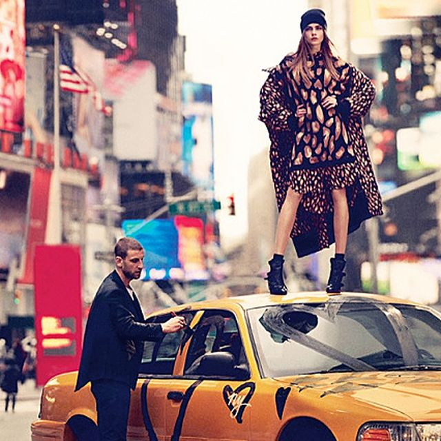 image: Cara Delevingne Explores the City for DKNY Fall 2013 by fashionnet