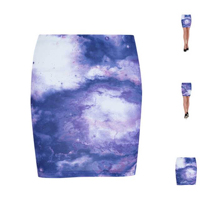 image: Galaxy Skirt by ckelyknickknack