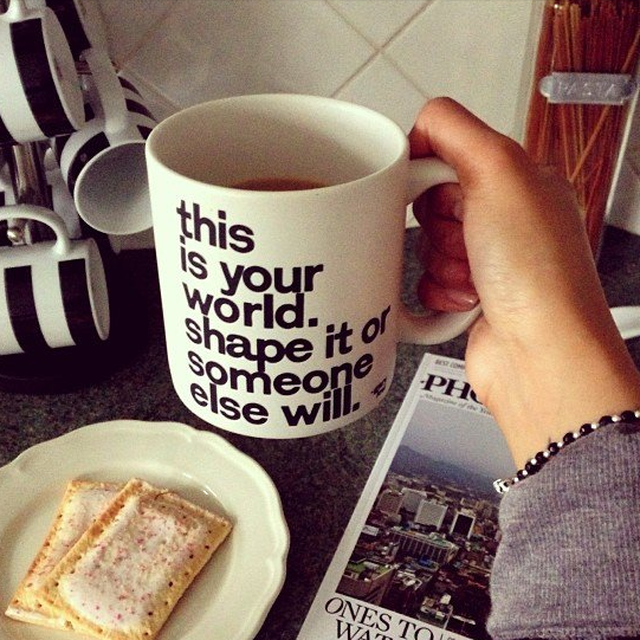 image: This is Your World Mug by gonzalor