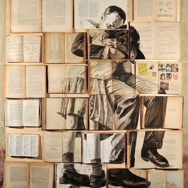 image: Book Paintings by Ekaterina Panikanova by impossiblemustard