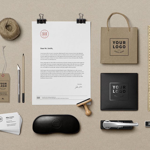 image: Branding Mock-Up (Free PSD) by villaaponte