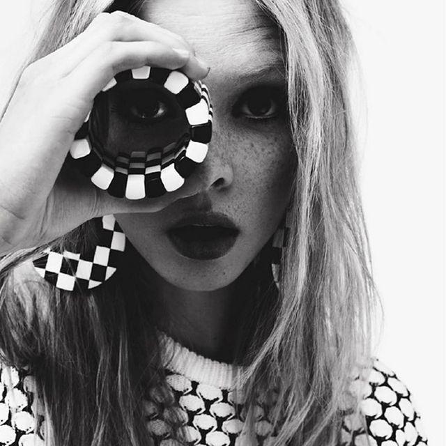 image: Dani Witt by Hanna Bluethmann for Grazia France by fashionnet