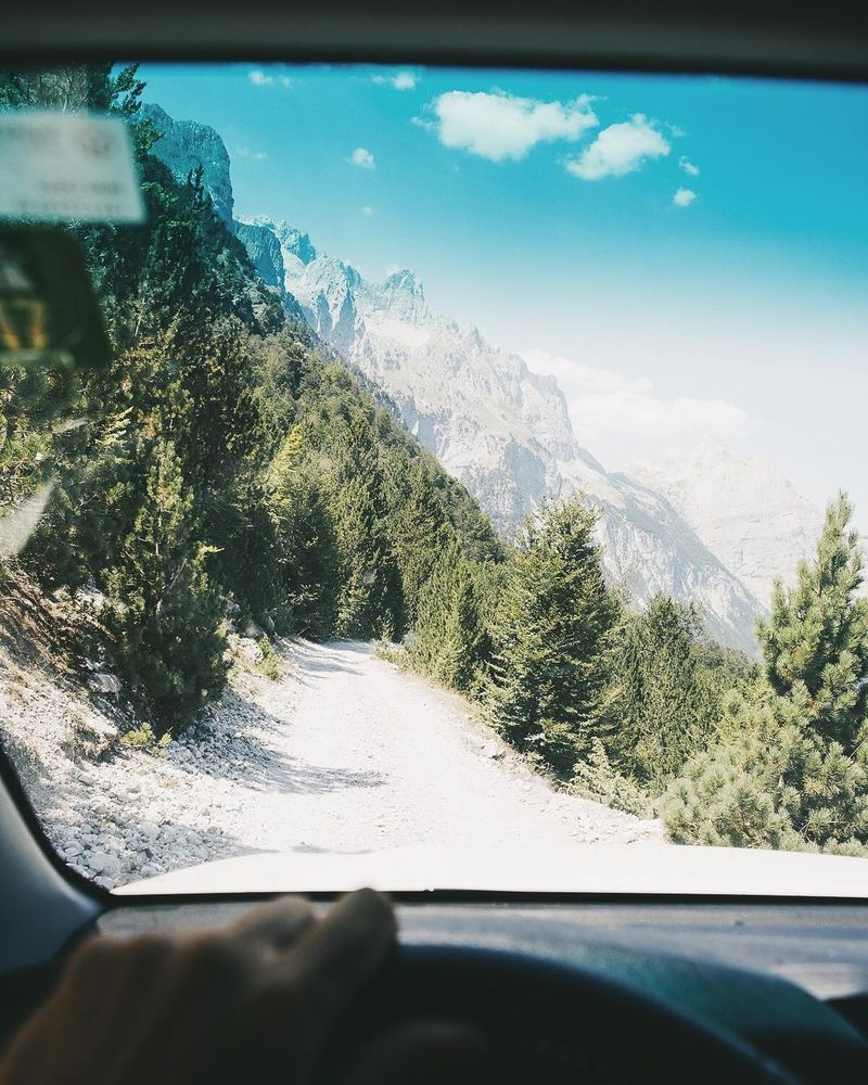 image: Since the beginning of this 5-month road trip, the best surprise so far has been the mountains of Northern Albania, and the whole experience to get there. For some reason no one ever told me about the beauty of the mountains in that part of the world.... by lebackpacker