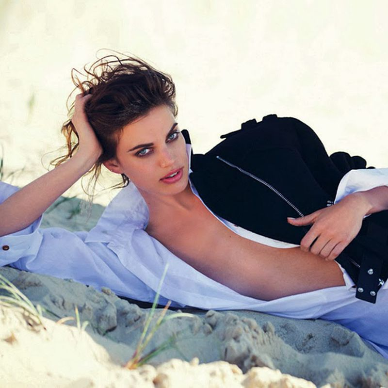 image: Rianne Ten Haken by David Bellemere for Marie Claire by fashionnet