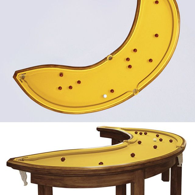 image: Banana Pool Table by paulojfutre