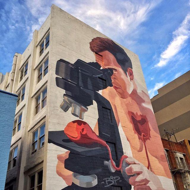 image: @bip_graffiti wall in San Francisco, USA ?? (2016)•#bipgraffiti #urbanart #streetart #painting #streetartofficial #contemporaryart #sanfrancisco by streetart_official