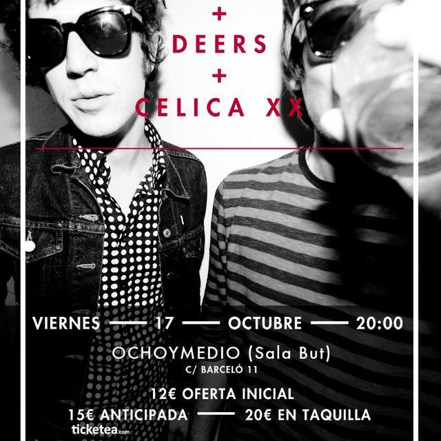 image: CELICA XX & CROCODILES @OCHOYMEDIO (MAD) by celicaxx