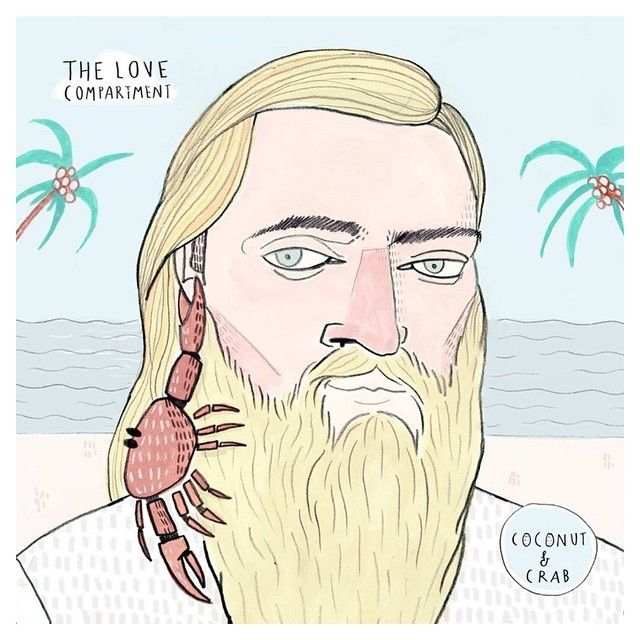 """image: New cd cover for @thelovecompartment """"coconut & Crab... by little_isdrawing"""