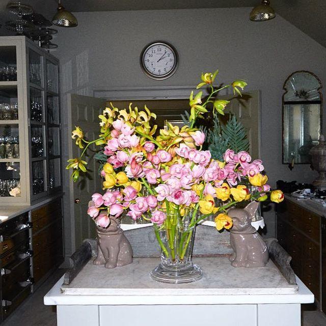 image: flashback to this epic floral arrangement at @marthastewart48 's house 🌷🌸🌺🌼 by terrryrichardson