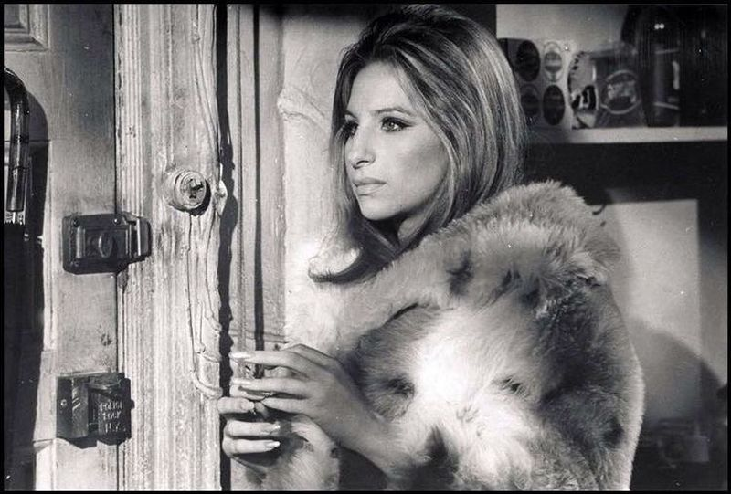image: Happy Friday, babes! Here's the always iconic Barbra Streisand in The Owl and the Pussycat (dir. by #HerbertRoss, 1970) 🥃 by 70sbabes