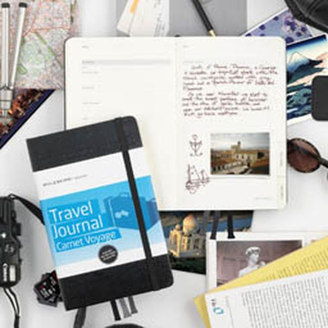 image: Moleskine  Travel Journal by mindfultravelbysara