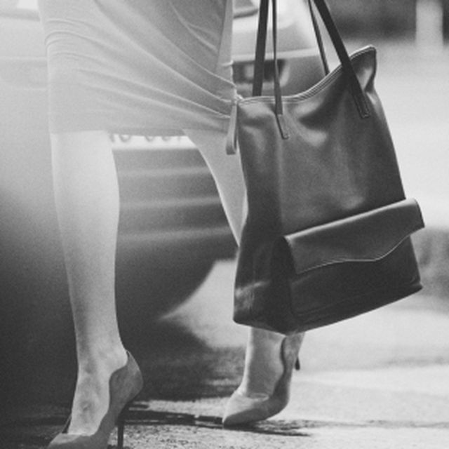 image: Leather Shopper  & Other Stories by duchic