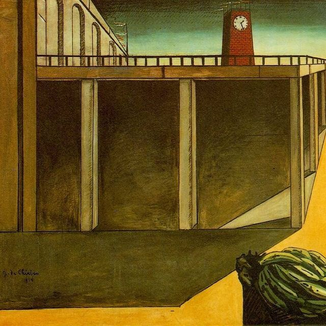 image: Giorgio de Chirico is the latest in Charles Saatchi's series of articles in the Daily Telegraph on his favourite masterpieces. Daily Telegraph offer free 30 days trial.https://www.telegraph.co.uk/art/artists/charles-saatchis-great-masterpieces-giorgio-de by saatchigallery