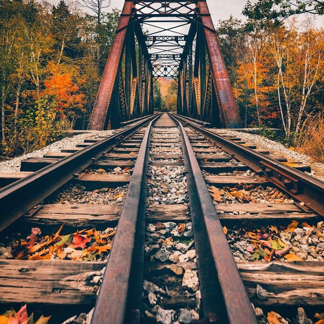 image: I spent yesterday looking for bridges in NH, and I saw so many!!! I couldn't stop at all of them. This one was easy to get to, it is over Sawyers river, have you been there? Ps vote is in, majority of you are brave like me and would walk across this... by yayitsyanan