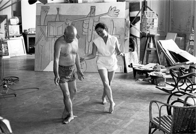 image: Picasso learning Ballet by danielgc