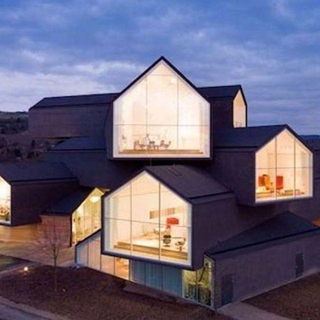 image: The 'VitraHaus' designed by architects @herzogdemeuron. by ignant
