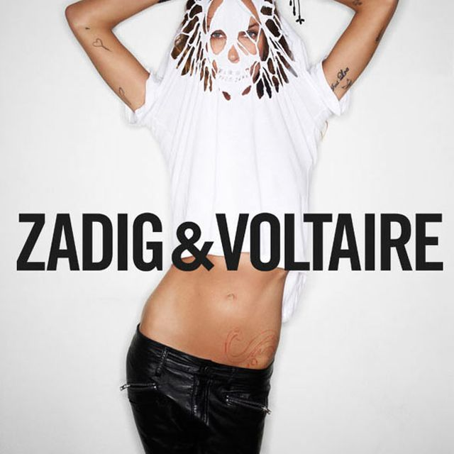 image: Erin Wasson for Zadig & Voltaire by martanicolas