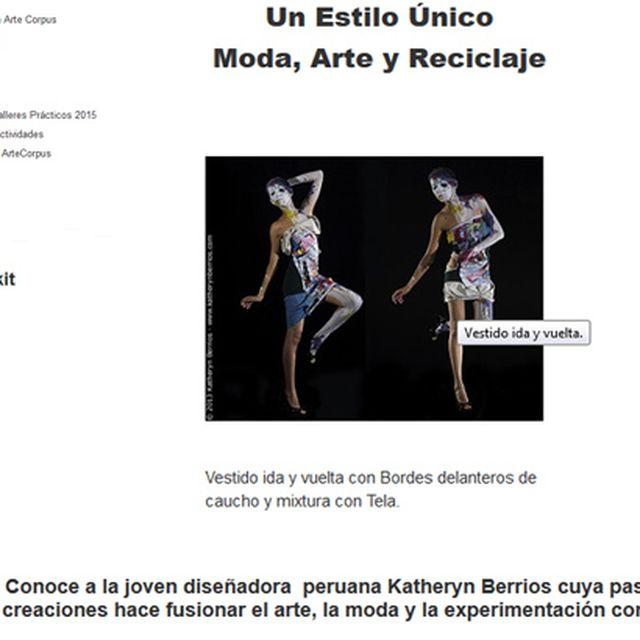 post: Entrevista para la Revista Cultural Arte Corpus by katherynberrios