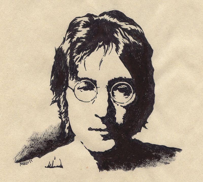 image: John Lennon by marta_brandariz