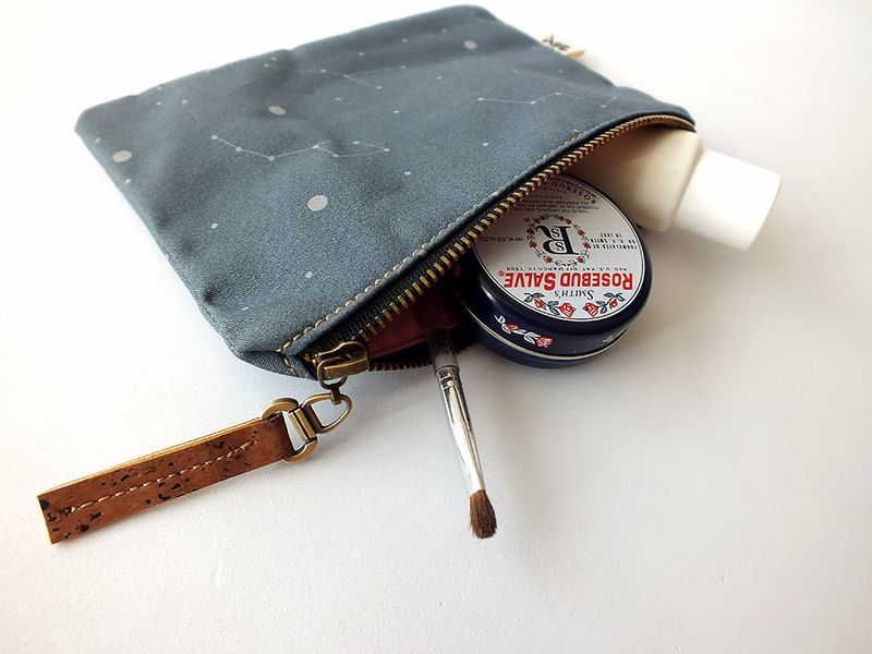 image: Constellations pouch by xianna
