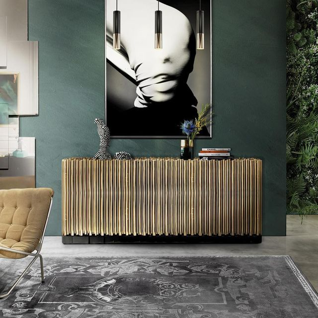 image: Symphony...by Boca do Lobo.#p_roduct•#product #productdesign #sideboard #cabinet #minimal #wood #woodworking #portugal #interiordesign by product