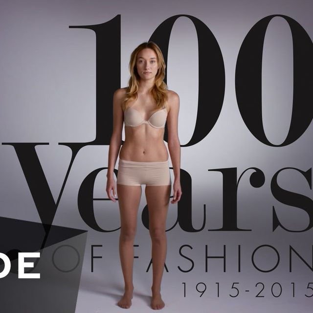 video: 100 Years of Fashion in 2 Minutes   MODE by caritina