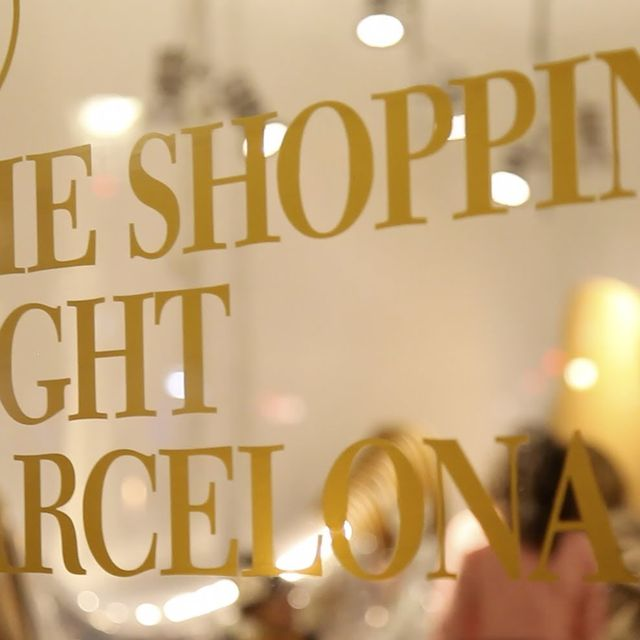 video: The shopping night - Barcelona 2012 by rosabcn