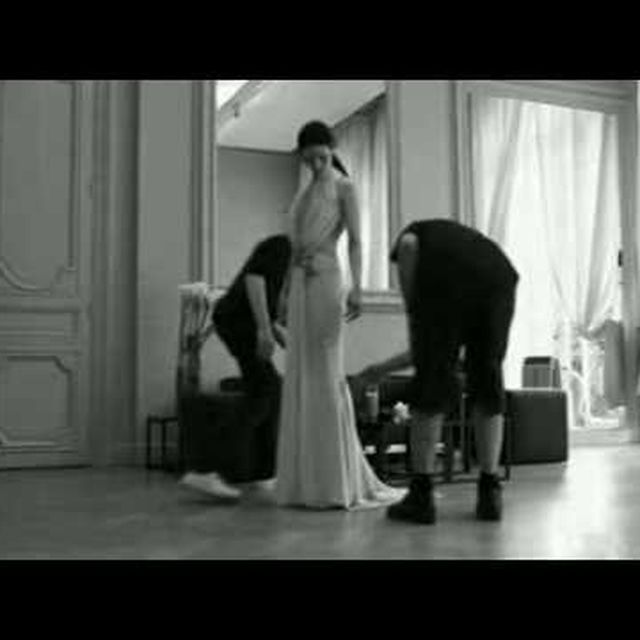 video: givenchy, the dress by nvm
