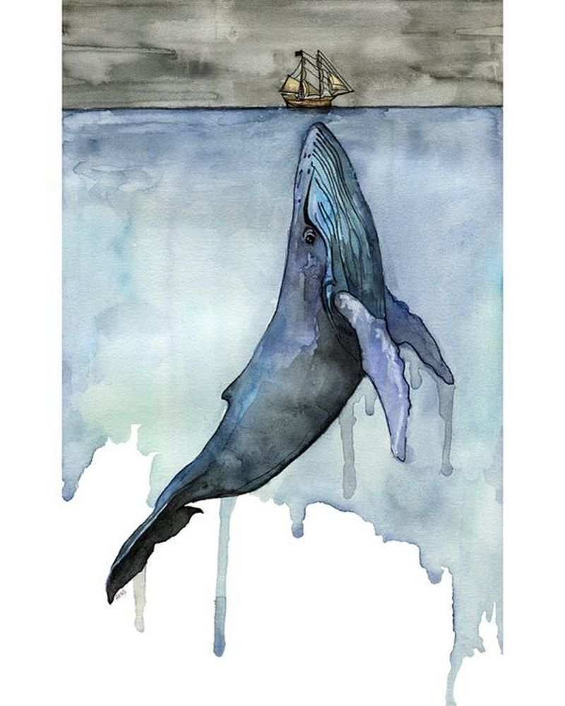 image: WHALE PAINTING by art_seeker