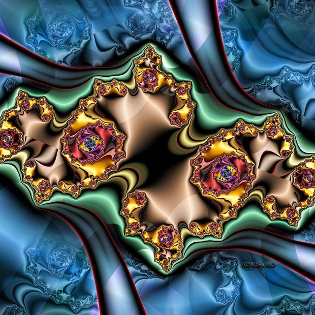 image: Folding Mandelbrot by ivankorsario