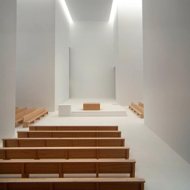 image: My kind of church by Rafael Moneo ?? via @interiordesign_addict by bertabernad_home