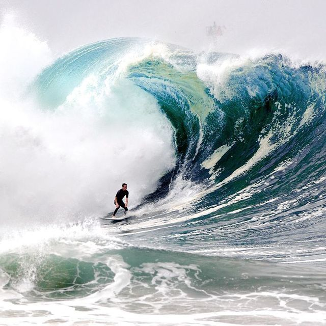 image: Surfing the Wedge, California by samysocial