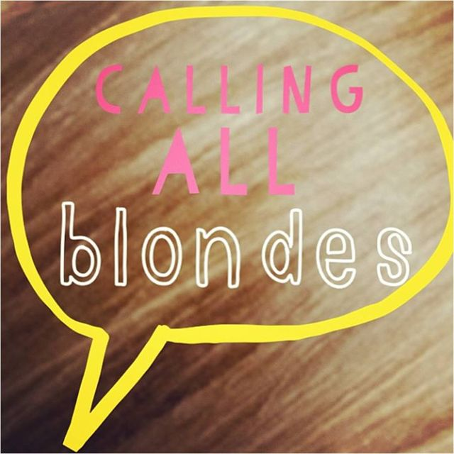 image: CALLING ALL BLONDES by ally_crespo