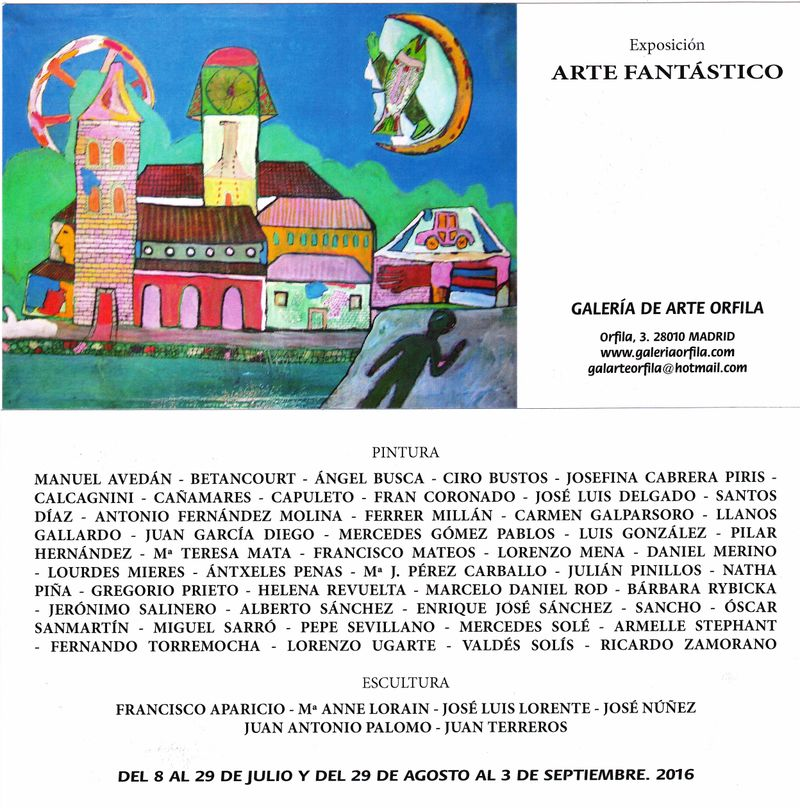 image: Next Art Exhibition in Madrid / Galería de Arte Orfila by danielrod