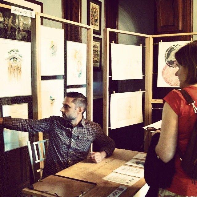 image: Presentando mi obra en exposicin #Cultur3club #Somio... by daniel_rod