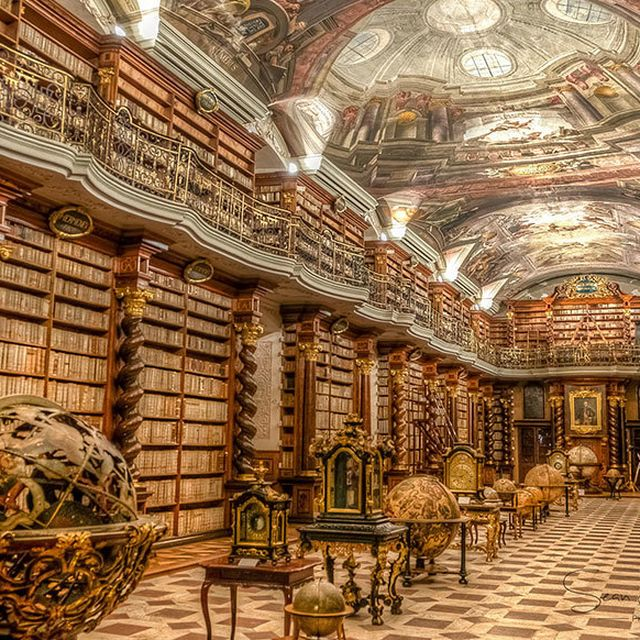 image: The World's Most Beautiful Library by wastedyouth