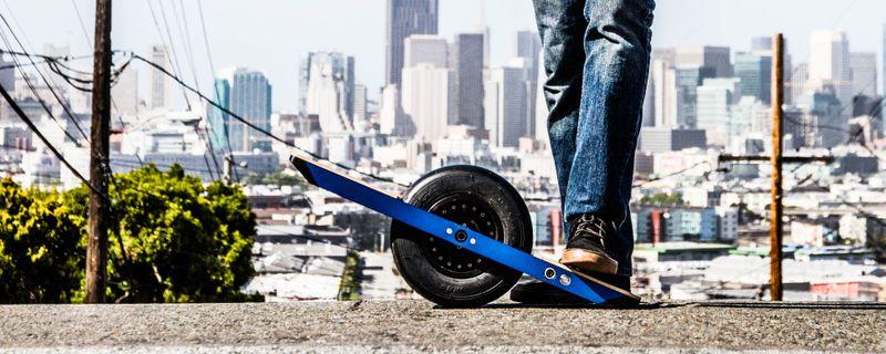 image: OneWheel, The Self-Balancing Electric Skateboard by dr-drake