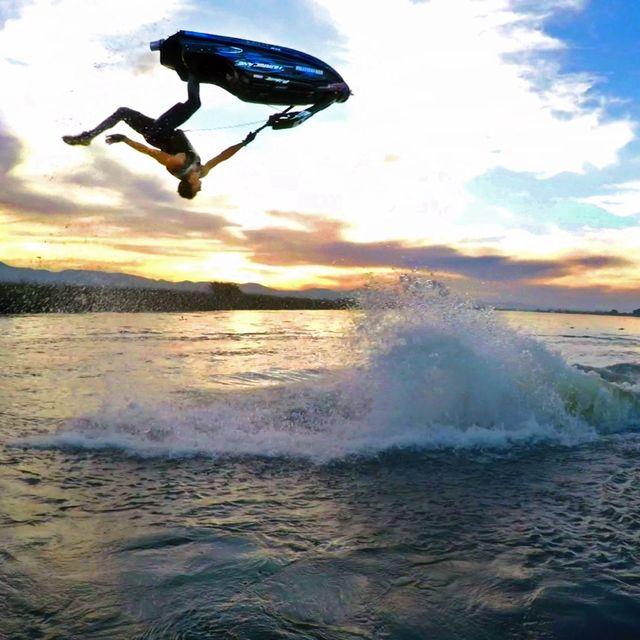 video: GoPro: Freestyle Jet Ski Tricks by kierin