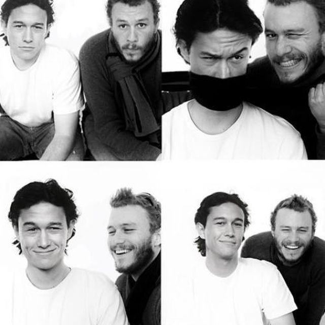 image: Joseph Gordon-Levitt & Heath Ledger by mordovas