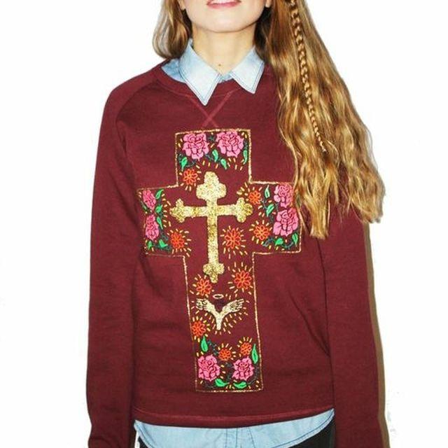 image: Cruz mexicana sweater by fashioniskillingme